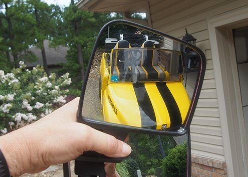 Golf Cart Mirrors Featured Image