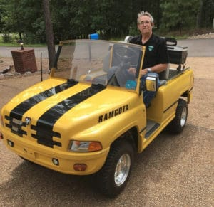 i have a 1996 club car ds with a custom body installed  there are literally  thousands of golf carts in my little township, and i am covering all of the