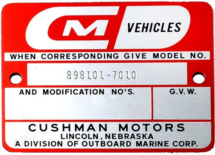 What Year Is My Cushman Golf Cart? Model And Serial Lookup ... Cushman Golf Cart Volt Wiring Diagram on ez go cart wiring diagram, cushman wiring 1995, cushman electric golf cart wiring diagram, golf cart battery diagram, 1986 club car wiring diagram, 48 volt club car wiring diagram,
