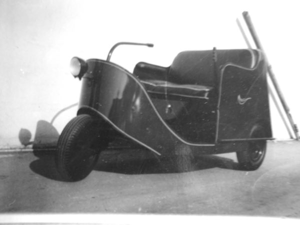 Earliest Know Picture of 1940 Autoette