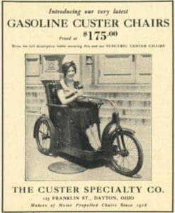 Gasoline Custer Chair Poster