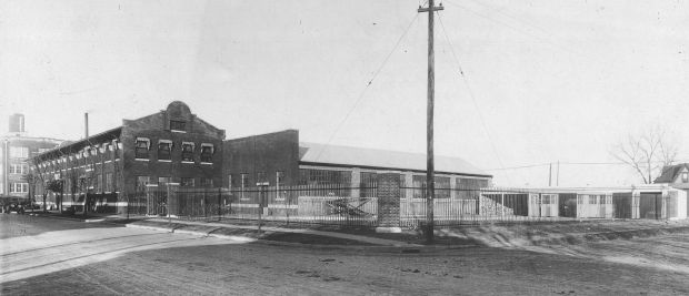 Cushman Motor Works Building and Foundry, circa 1919