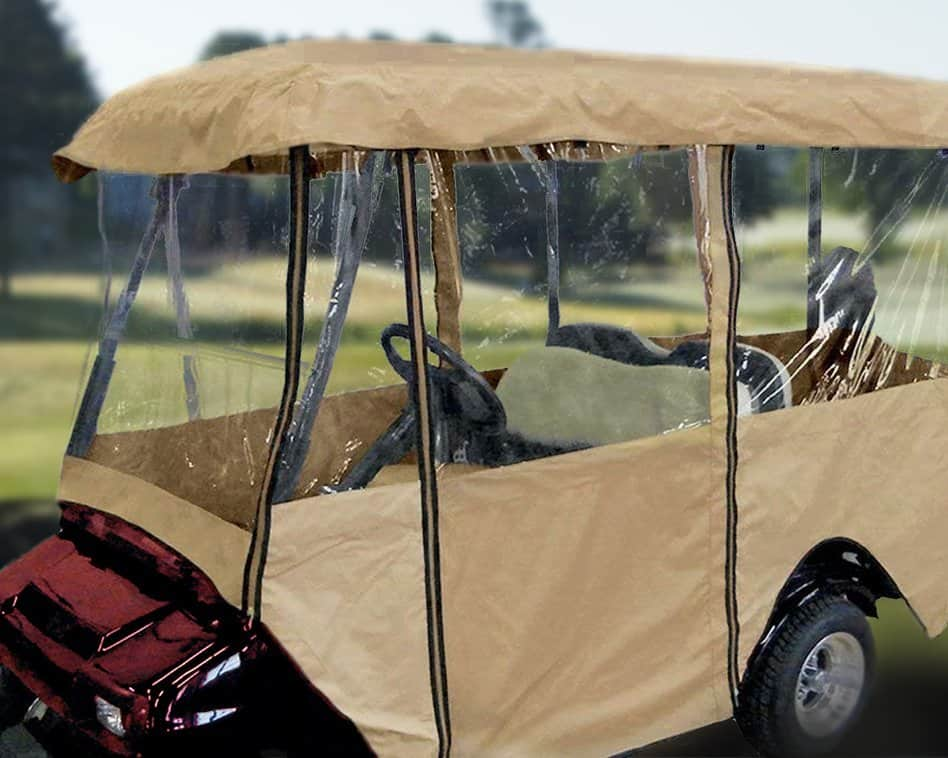Best Golf Cart Enclosures Featured Image