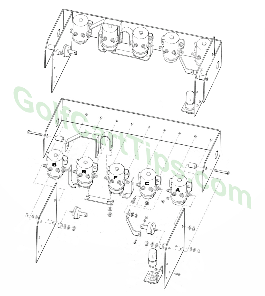 Harley Davidson Golf Cart Wiring Diagram from golfcarttips.com