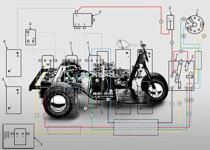 1965 Harley Davidson Golf Cart Wiring Diagram - Wiring ... on