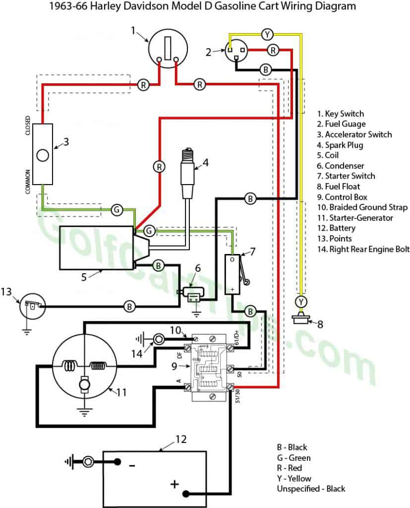 Here Is Your Starting System Wiring Diagram