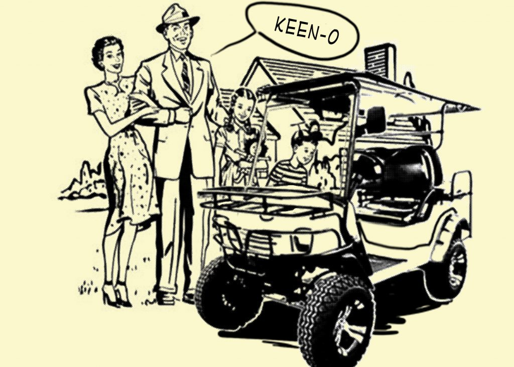 Your Off-Road Golf Cart Will Turn Heads On The Golf Links
