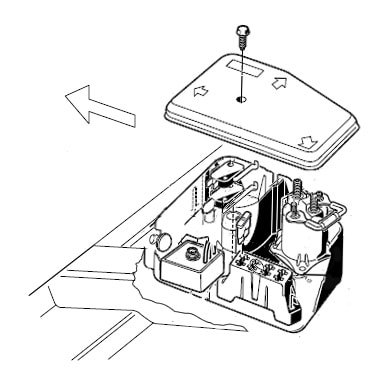 Electrical Component Box (Under Driver Side Seat)